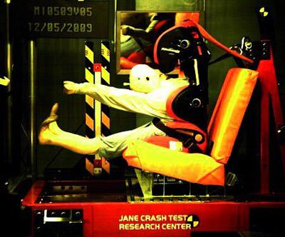 jane montecarlo crash test